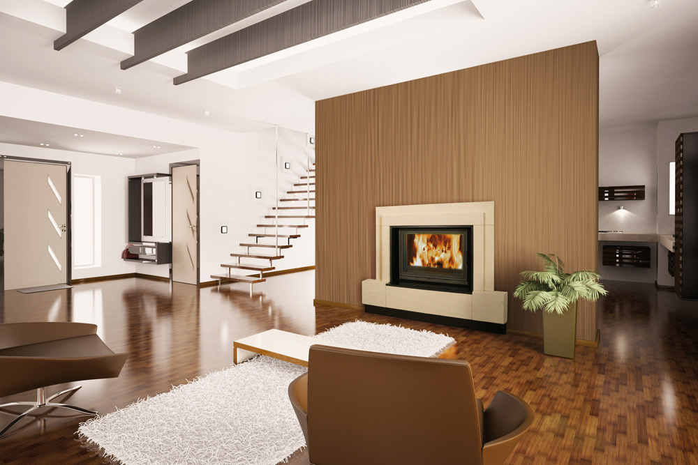 Chemin e pose installation sarl lenain planchenault laval - Modele cheminee moderne ...