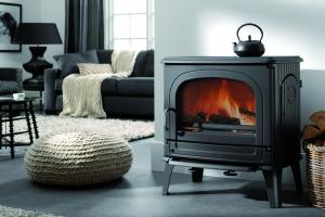 Poêle à bois Fonte Flamme - Dru 78CB