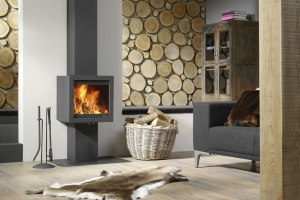 Poêle à bois Fonte Flamme - Bora Console